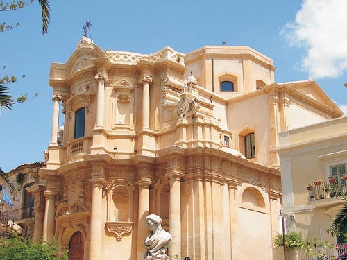The southeast travelling sicily for Churches of baroque period