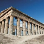 The 36 Doric Columns of the Greek Temple