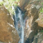 The Catafurco water falls