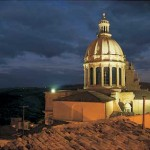 The Dome S. Giorgio in Ragusa Ibla at night