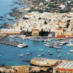 The Favignana harbour