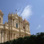 Ancient church in Noto