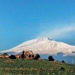 Catania-Mount Etna in winter